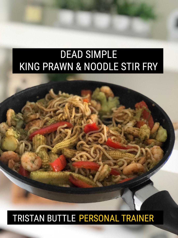 Prawn stir fry