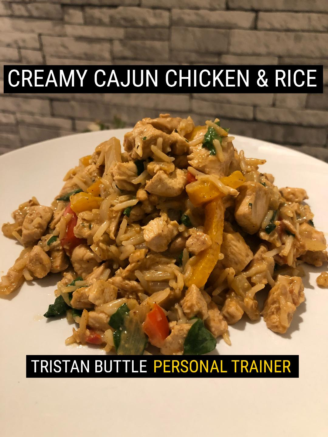 creamy cajun chicken & rice
