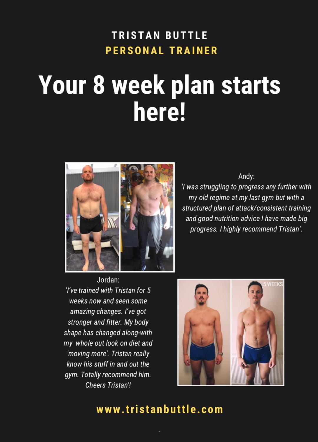 8 week plan