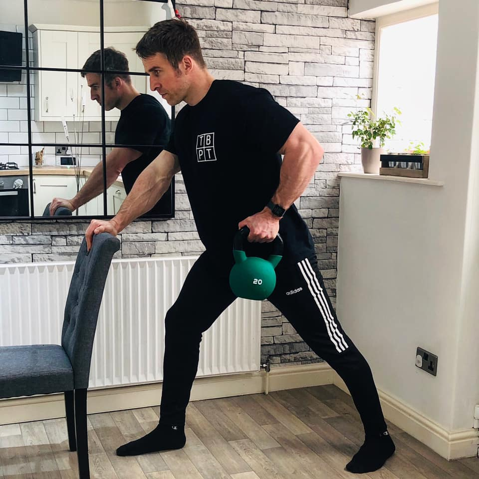 training at home